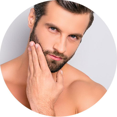 Male cosmetic treatments, Dr Saber clinic, model image 03